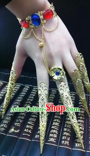 Traditional Chinese Hand and Finger Nails Accessories