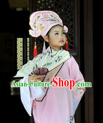 Ancient Chinese Gifted Scholar Costumes for Kids