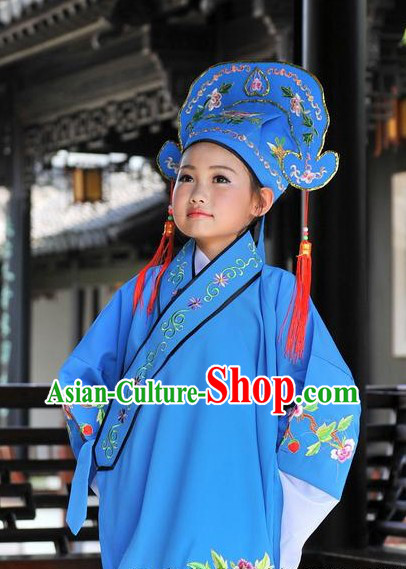 Ancient Chinese Poet Costumes for Kids