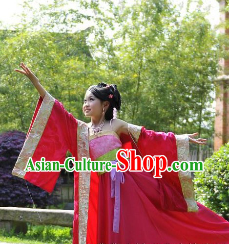 Ancient Chinese Princess Costumes for Kids