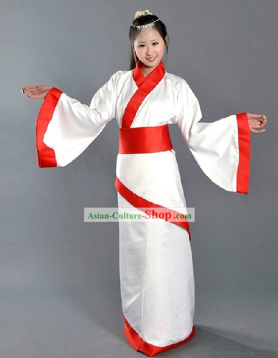Traditional Chinese Han Clothing Dance Costumes for Women