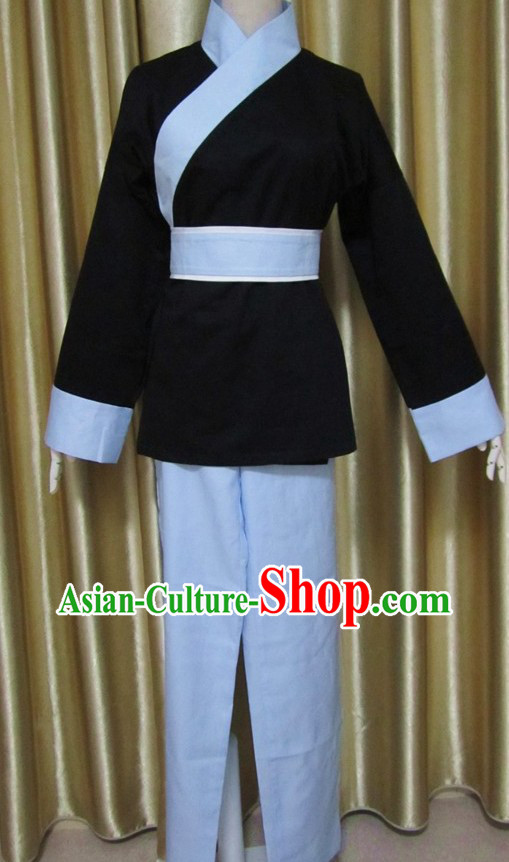 Ancient Chinese Ordinary People Costume