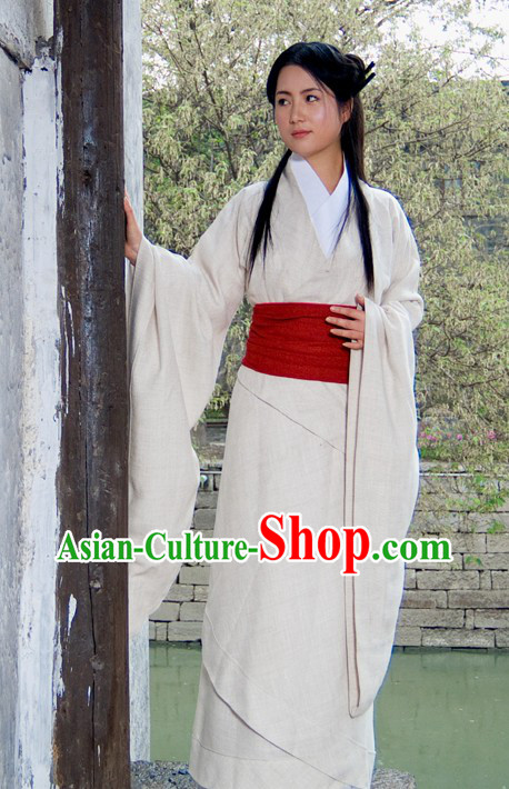 Ancient Chinese Plain Clothing for Women