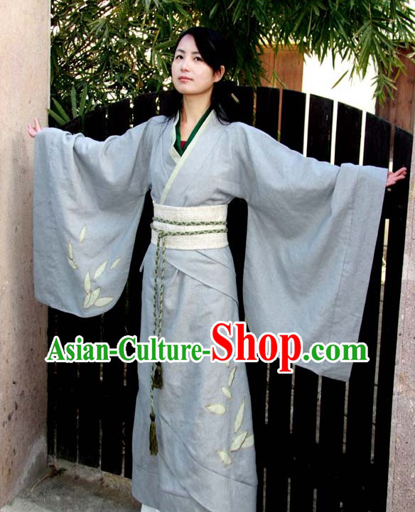 Ancient Chinese Tea Ceremony Clothing for Women