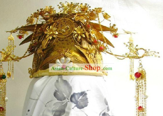 Ancient Chinese Empress Wedding Hat