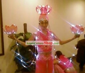 El Wire Led Costumes Kit Complete Set