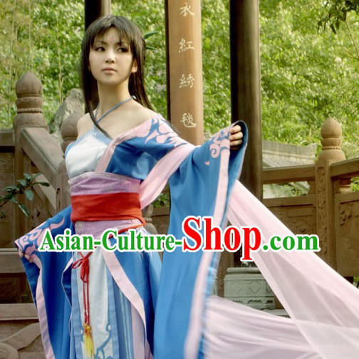 Ancient Chinese Liu Mengli Character Costumes