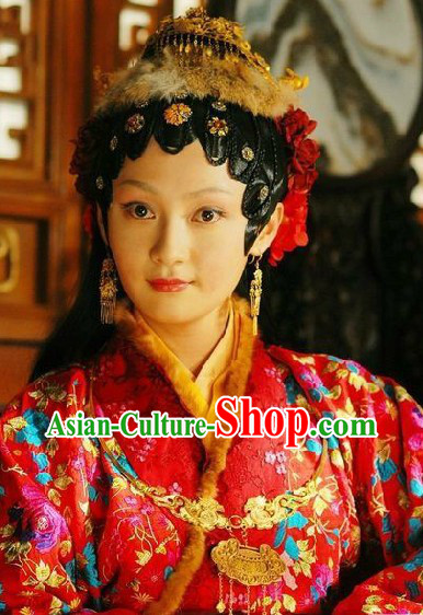 Ancient Chinese Wedding Necklace Set for Bride