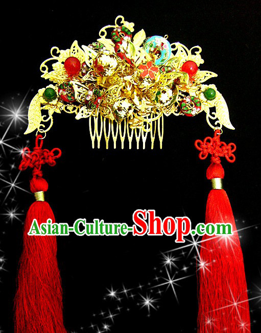 Ancient Chinese Phoenix Wedding Crown for Women