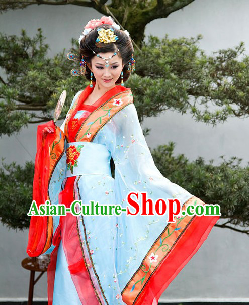 Ancient Chinese Tang Dynasty Imperial Lady Costume for Women