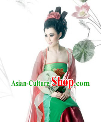 Ancient Chinese Red Clothes for Women