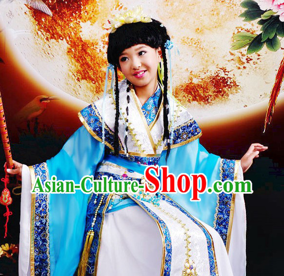 Ancient Chinese Children Beauty Contest Costumes