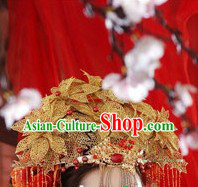 Ancient Chinese Beautiful Bride Hair Accessories