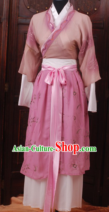 Ancient Chinese Hanfu Dress Complete Set for Women