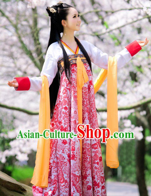 Ancient Tang Dynasty Palace Lady Costume