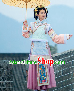 Ancient Qing Dynasty Palace Princess Costume