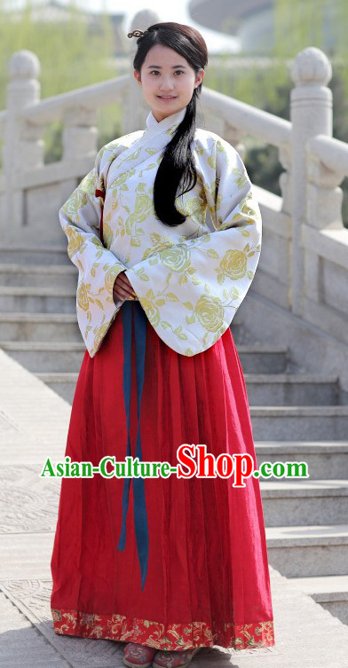 Ancient Chinese Ming Dynasty Princess Costume for Women