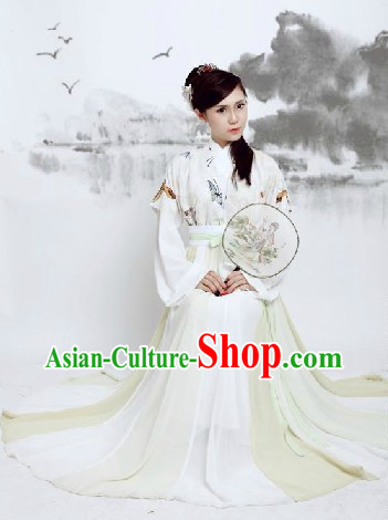 Ancient Chinese Butterfly Hanfu Clothing for Women