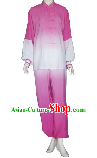 Traditional Chinese Color Transition Kung Fu and Tai Chi Uniform