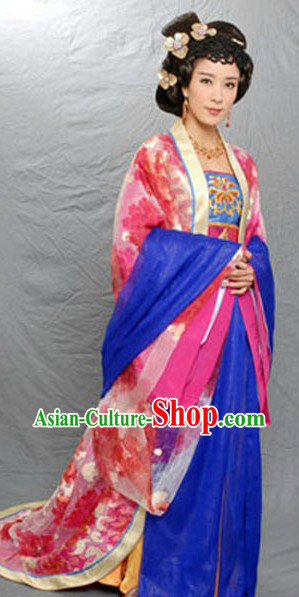 Ancient Chinese Tang Palace Empress Costume for Women