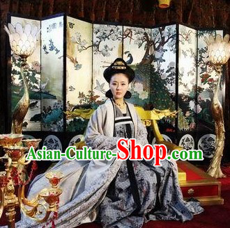 Chinese Tang Dynasty Imperial Empress Costumes