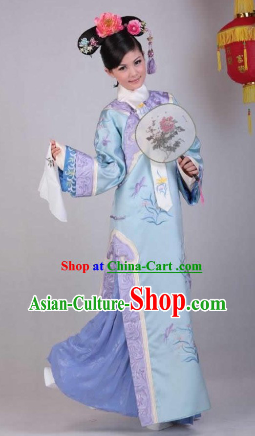 Ancient Chinese Qing Dynasty Princess Clothing for Women