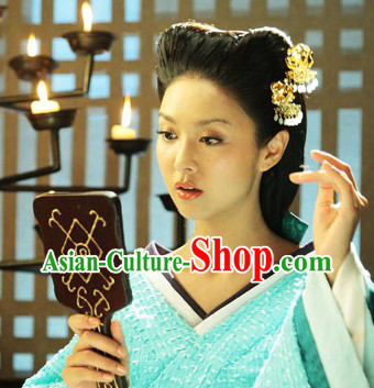 Ancient Chinese Beauty Handmade Flower Hairpin