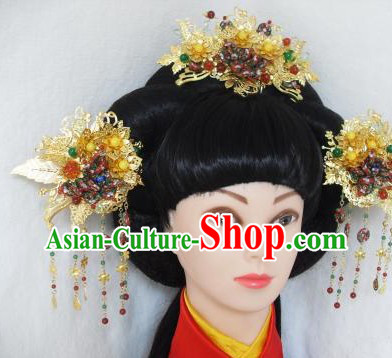 Ancient Chinese Female Handmade Hair Accessories