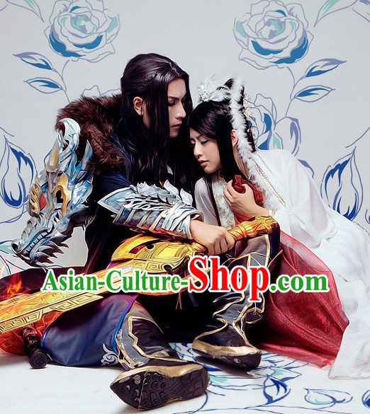 Ancient Chinese Dragon Cosplay Costumes for Men