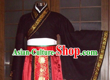 Ancient Chinese Han Dynasty Lord Robe for Men