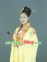 Ancient Chinese Tang Dynasty Royal Lady Clothing for Women
