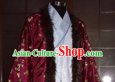 Ancient Chinese Ming Dynasty Royal Nobility Clothing for Men