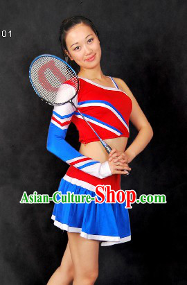Chinese Cheerleader Cheering Squad  Dance Costumes