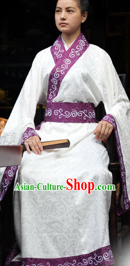 Traditional Chinese Han Costumes for Men