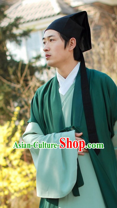 Ancient Chinese Young Scholar Clothing for Men