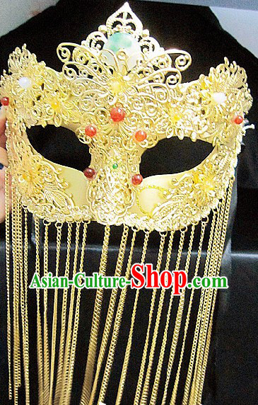 Handmade Chinese Classic Mysterious Mask