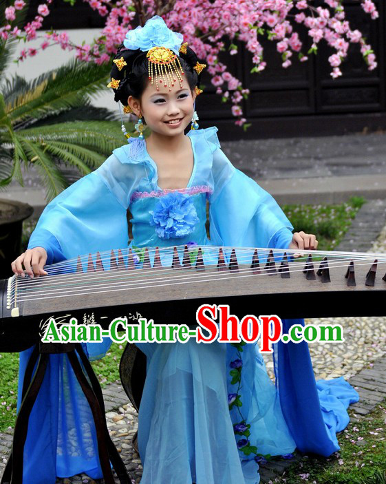 Ancient Chinese Musician Costumes for Kids