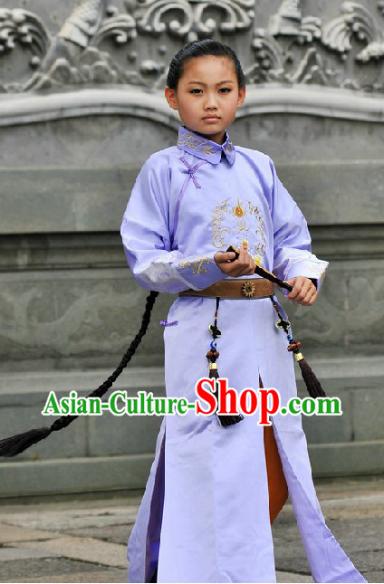 Traditional Palace Chinese Prince Costume for Kids