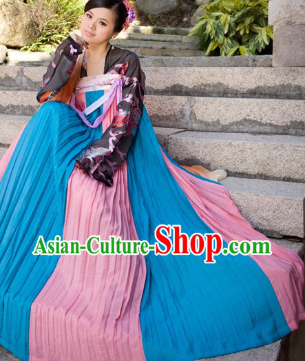 Tang Dynasty Princess Clothing Complete Set for Women