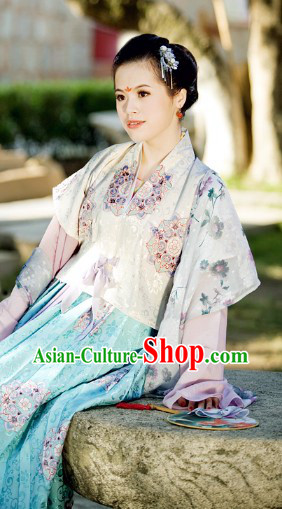 Ancient Chinese Princess Dress Complete Set