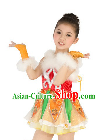 Traditional Chinese New Year Dance Costumes for Women