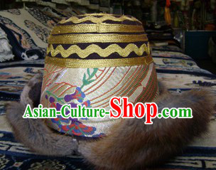 Traditional Shangri-La Tibetan Hat