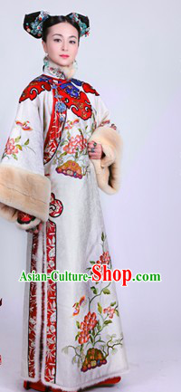 Qing Dynasty Imperial Palace Princess Costumes Complete Set