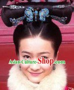 Ancient Chinese Butterfly Princess Wig and Hair Accessories