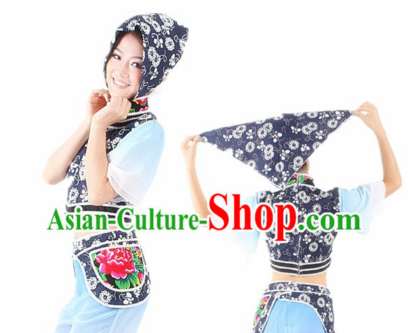 Traditional Chinese Han Ethnic Dance Costume for Women