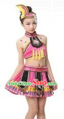 Traditional Chinese Ethnic Minority Costumes and Accessories for Women