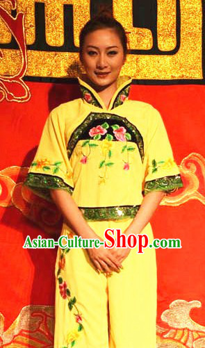 Traditional Chinese Drum Dance Costumes for Women