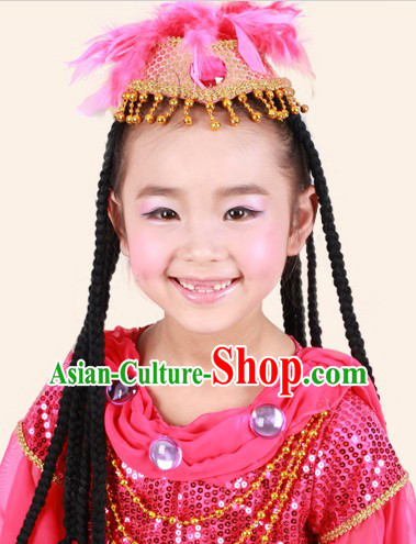 Kids Clothes of the Xinjiang Uygur People