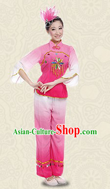 Traditional Stage Performance Ribbon Dance Costumes for Women