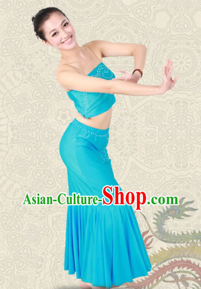 Chinese Dai Minority Dance Costumes for Women